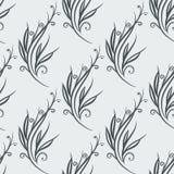 Naadloos bloemen abstract patroon stock illustratie