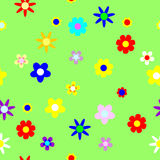 Naadloos. bloemen achtergrond Royalty-vrije Stock Foto
