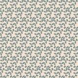 Naadloos bloemen het herhalen patroon Stock Foto's