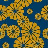 Naadloos bloemen Japans patroon vector illustratie