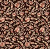 Naadloos bloemen uitstekend ontwerp royalty-vrije illustratie
