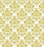 Naadloos bloemen vectorpatroon Stock Afbeeldingen