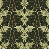 Naadloos bloemen vectorpatroon Royalty-vrije Stock Foto