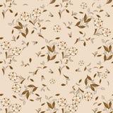 Naadloos bloemen vectorpatroon voor ontwerp Stock Afbeeldingen