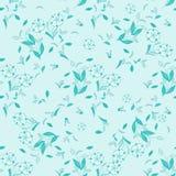 Naadloos bloemen vectorpatroon voor ontwerp Stock Foto's