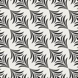 Naadloos Bloemenart deco pattern Uitstekende minimalistic achtergrond Abstracte Luxeillustratie stock illustratie