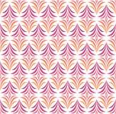 Naadloos Bloemenart deco pattern Uitstekende minimalistic achtergrond Abstracte Luxeillustratie royalty-vrije illustratie