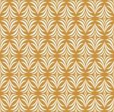 Naadloos Bloemenart deco pattern Uitstekende minimalistic achtergrond Abstracte Luxeillustratie vector illustratie