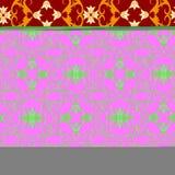 Naadloos bloemenbehang Royalty-vrije Stock Afbeelding