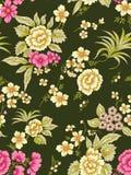 Naadloos bloemenbloempatroon vector illustratie