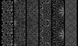 Naadloos bloemenornament vector illustratie