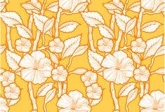 Naadloos BloemenPatroon Royalty-vrije Stock Afbeeldingen