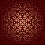 Naadloos bloemenpatroon Stock Afbeelding