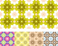 Naadloos bloemenpatroon Royalty-vrije Stock Foto