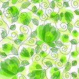 Naadloos bloemenpatroon Stock Foto