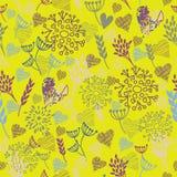 Naadloos bloemenpatroon. achtergrond Stock Fotografie