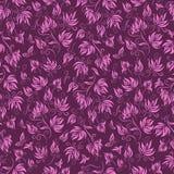 Naadloos bloemenpatroon als achtergrond Stock Afbeelding