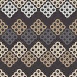 Naadloos BloemenPatroon Geometrische Achtergrond Decoratief bloemenornament Royalty-vrije Stock Afbeeldingen