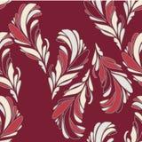 Naadloos BloemenPatroon met Bloemen Royalty-vrije Stock Afbeeldingen