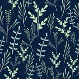 Naadloos bloemenpatroon met heldere kleurrijke bloem wilde bloesem, Breed uitstekend naadloos patroon als achtergrond stock foto's