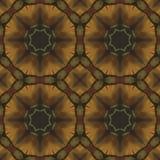 Naadloos bloemenpatroon, olieverfschilderij Royalty-vrije Stock Foto's