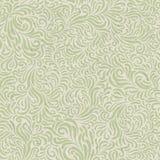 Naadloos bloemenpatroon op gerecycleerde document textuur Stock Foto