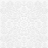 Naadloos bloemenpatroon in in traditionele stijl Stock Afbeeldingen