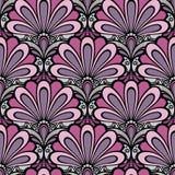 Naadloos bloemenpatroon (vector) Royalty-vrije Stock Afbeeldingen