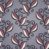 Naadloos bloemenpatroon (vector) Royalty-vrije Stock Fotografie
