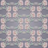 Naadloos bloemenpatroon (vector) Royalty-vrije Stock Afbeelding