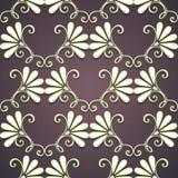 Naadloos bloemenpatroon (vector) Royalty-vrije Stock Foto's