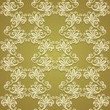 Naadloos bloemenpatroon (vector) Stock Fotografie