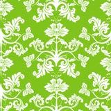 Naadloos bloemenpatroon, vector Stock Afbeelding