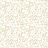 Naadloos BloemenPatroon Vector illustratie Stock Foto's