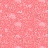 Naadloos bloemenpatroon, vectorillustratie royalty-vrije illustratie