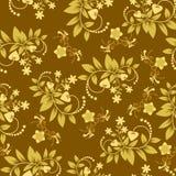 Naadloos bloemenpatroonbehang - Illustratie Royalty-vrije Stock Foto's