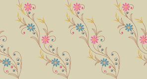 Naadloos borduurwerkpatroon royalty-vrije illustratie