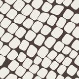 Naadloos bruin patroon met straatsteen Royalty-vrije Stock Foto