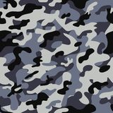 Naadloos camouflagepatroon Royalty-vrije Stock Foto