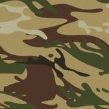 Naadloos camouflagepatroon Royalty-vrije Stock Afbeelding