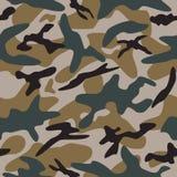 Naadloos camouflagepatroon Stock Fotografie