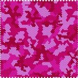 Naadloos camouflagepixel Royalty-vrije Stock Foto's