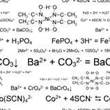 Naadloos chemisch behang Stock Fotografie