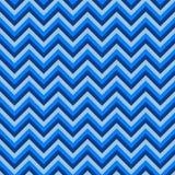 Naadloos chevronpatroon met blauwe lijnen Vector illustratie Achtergrond voor kleding, productie, behang, drukken, giftomslag Stock Afbeelding