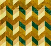 Naadloos chevronpatroon met oude document textuur Royalty-vrije Stock Fotografie