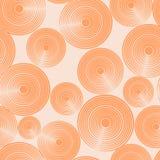 Naadloos cirkelpatroon Stock Afbeeldingen