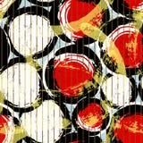Naadloos cirkelpatroon Stock Foto