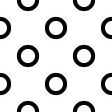 Naadloos cirkelpatroon stock illustratie