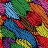 Naadloos colourfull abstract patroon Stock Afbeeldingen