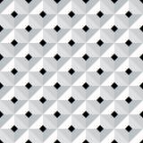 Naadloos 3d geometrisch patroon stock illustratie